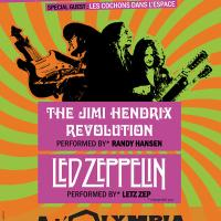 The Jimi Hendrix Revolution et Letz Zep - Rock Legends
